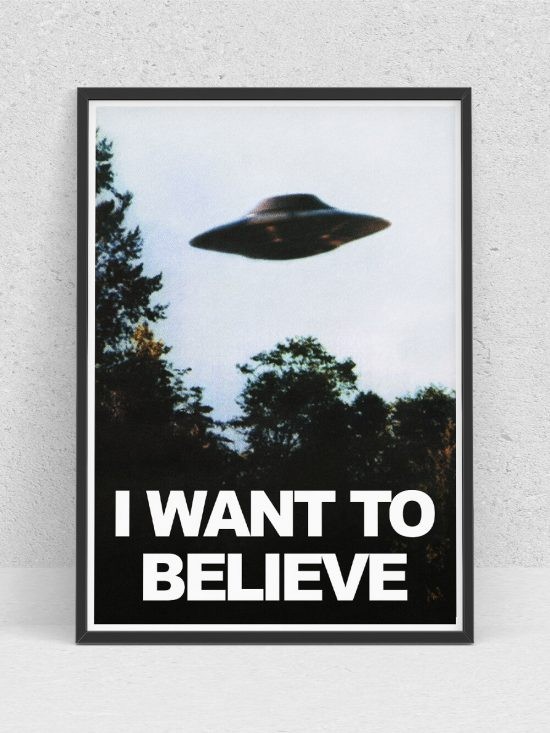 Poster –  I Want To Believe