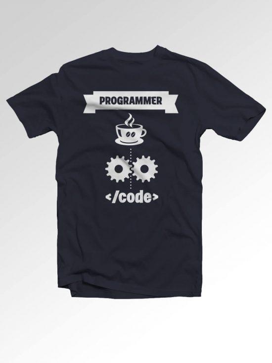 Majica – Programmer code to coffe