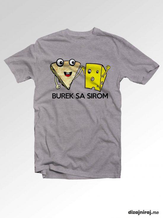 Majica – Burek sa sirom