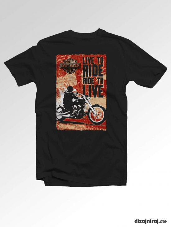 Majica – Live to ride