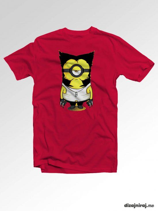 Majica – Minion Wolverine