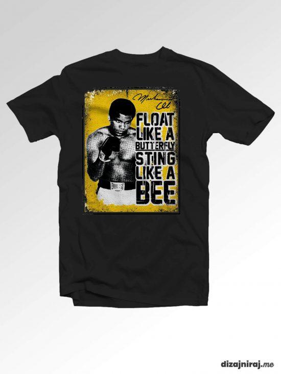 Majica – Float like a butterfly, sting like a bee