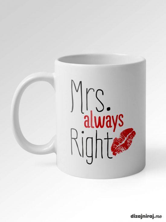 Šalice Mrs. & Mr. right
